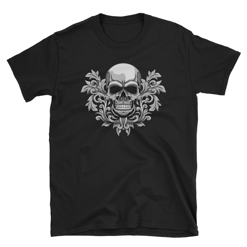 Men's T Shirt,Black / 3XL,Corinthian Skull T-Shirt | Bikerisma ™