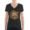 Women's V-Neck T-Shirt,,Fierce Women's V-Neck T-Shirt | Bikerisma ™