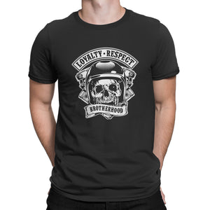 Men's T Shirt,,Loyalty Respect Brotherhood T-Shirt | Bikerisma ™