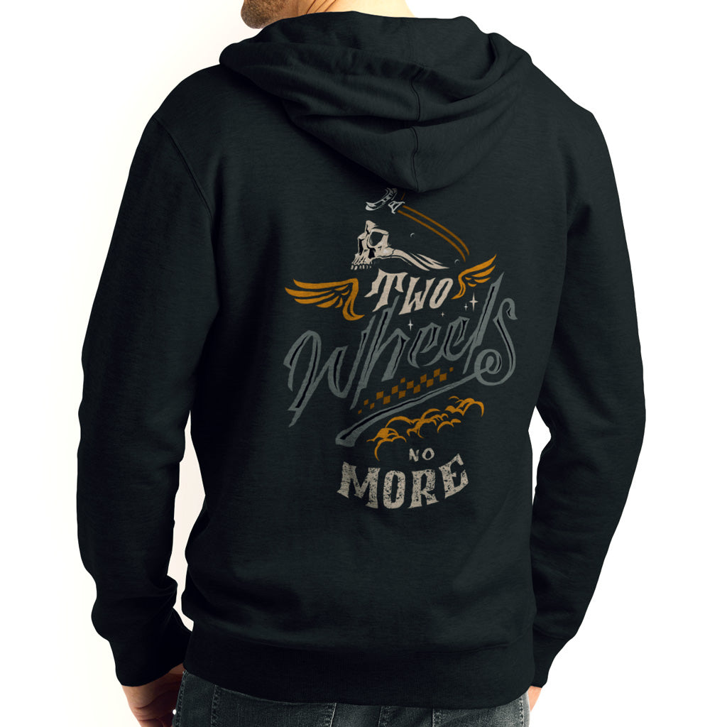 Two Wheels No More Men Hoodie