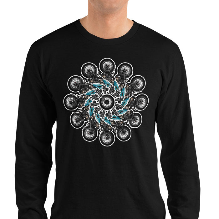 Wheels Of Fortune Long Sleeve Shirt