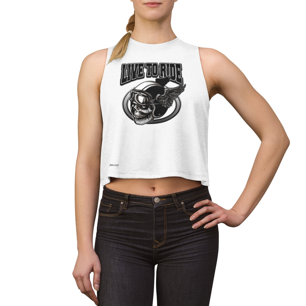 Tank Top,,Live to Ride Women Top | Bikerisma ™