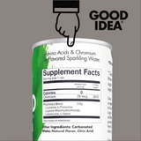 Cut your sugar spikes* - Good Idea® 12 Count Sparkling Variety Pack. Now with an Introductory Offer!