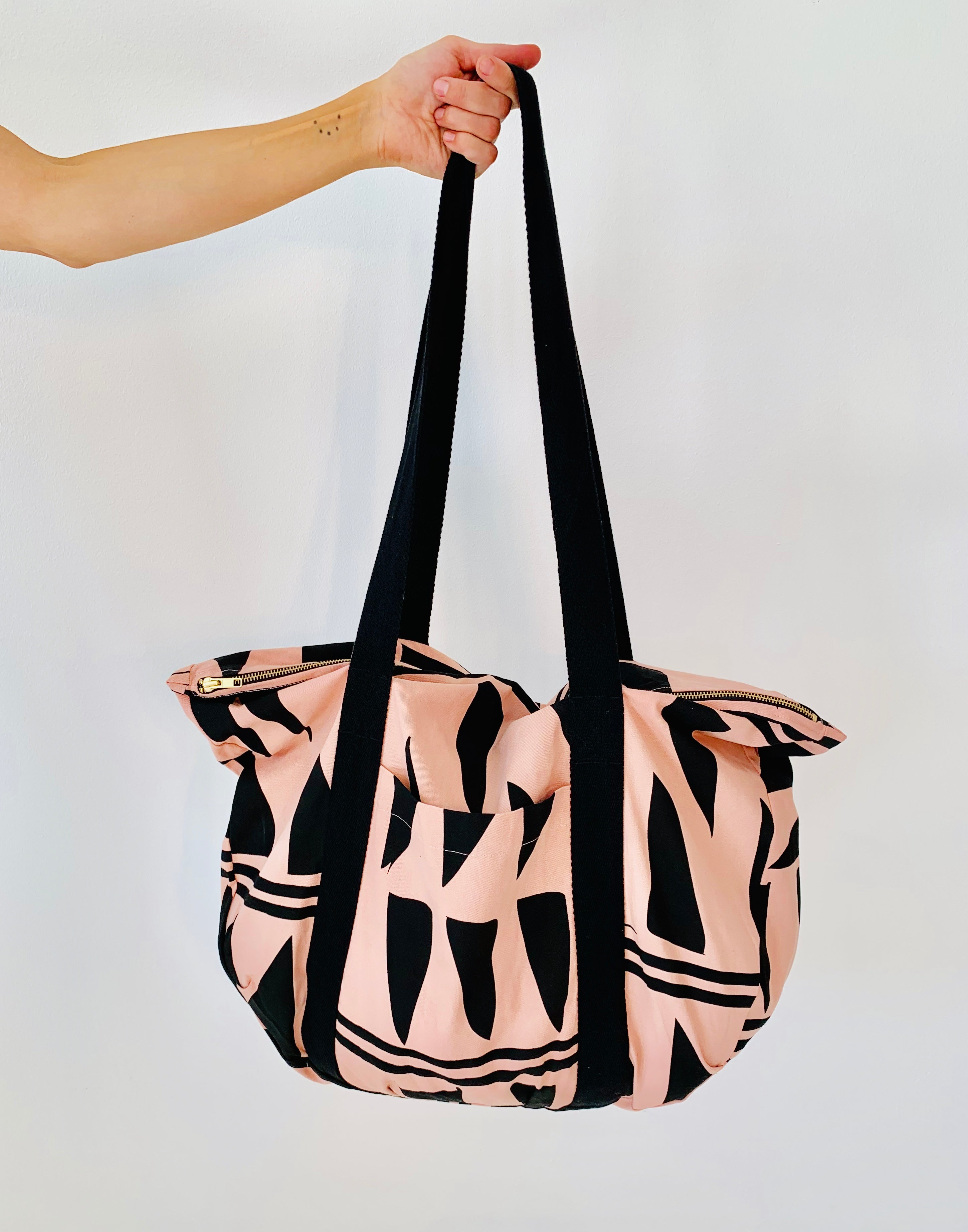 Zipper Bag rose