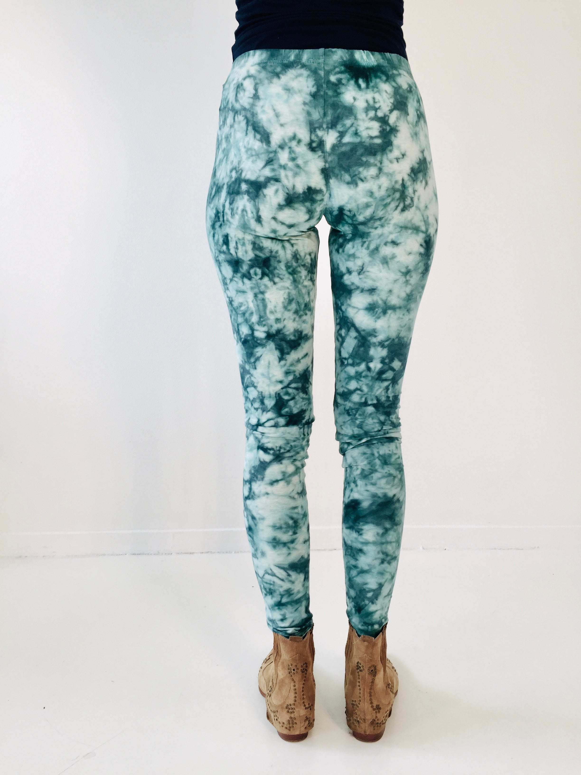 Stisa Leggings black marble