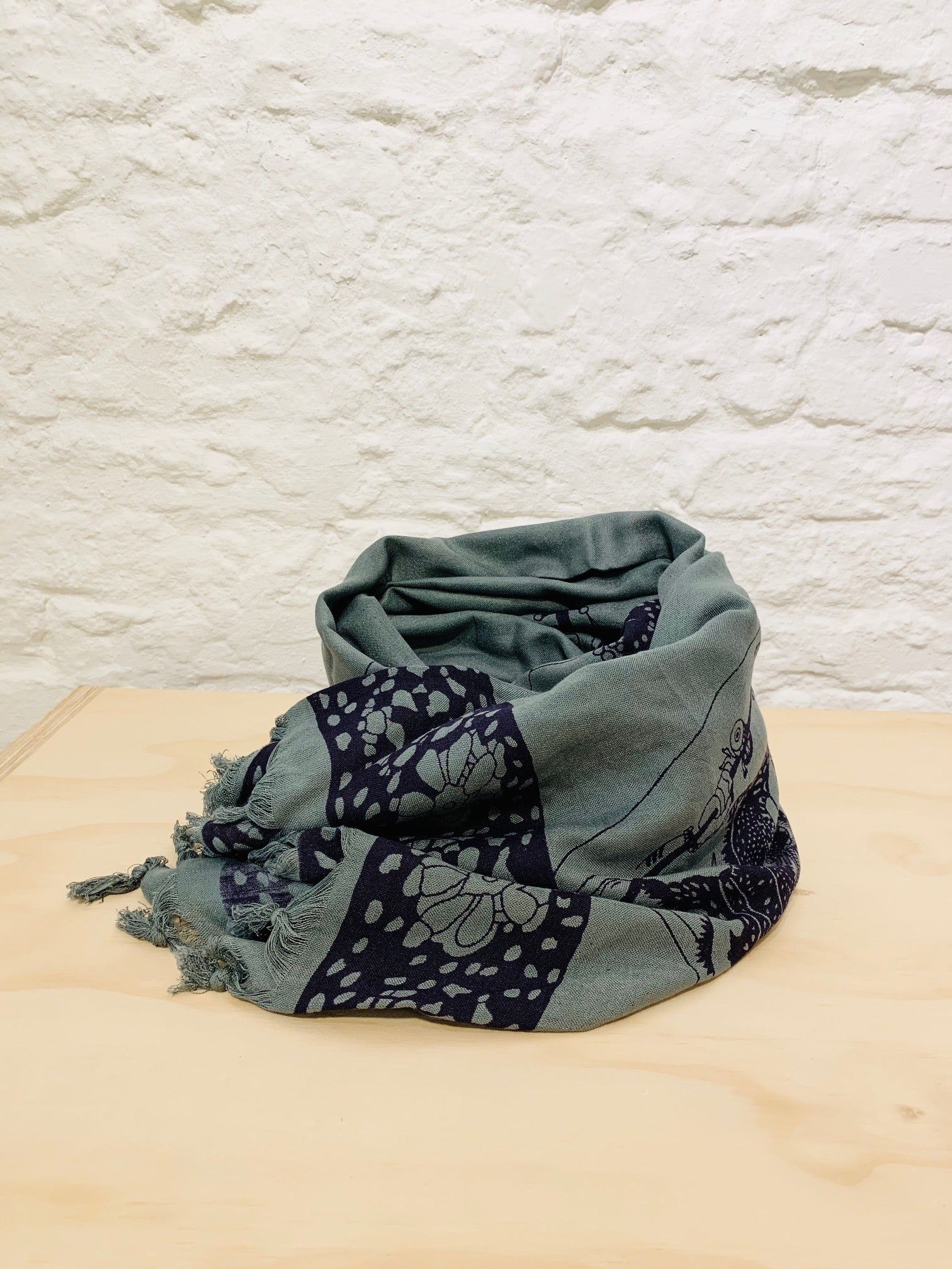Cotton scarf 13