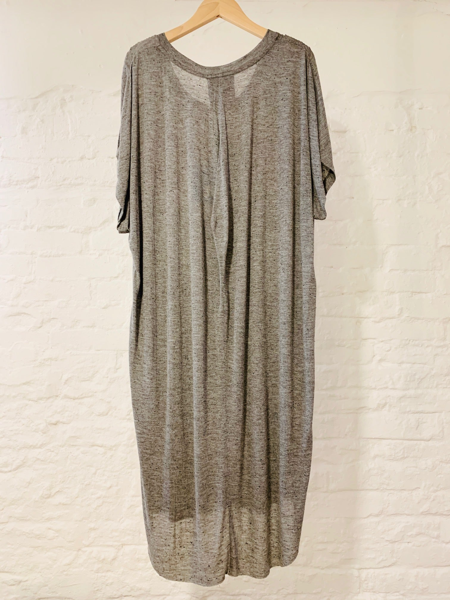 Gaia dress grey jersey