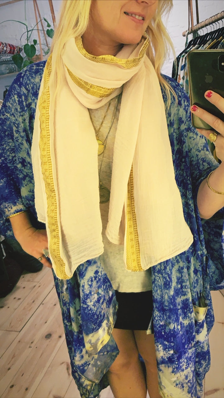 Cotton scarf 21