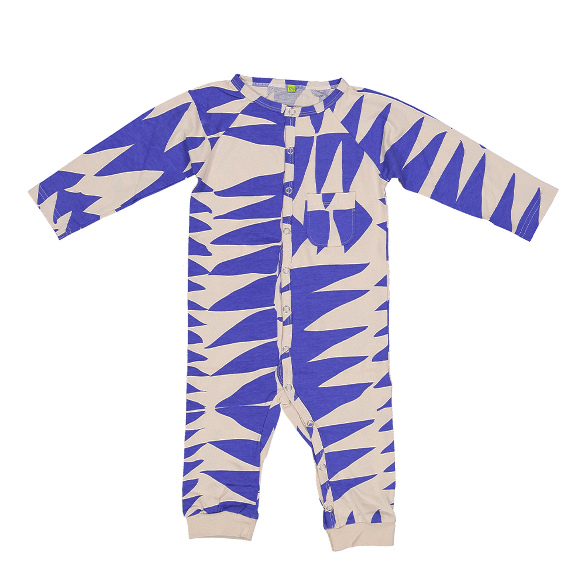 Sydney Jumpsuit blue tribe
