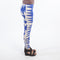 Saga Leggings blue tribe