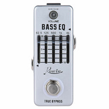 Load image into Gallery viewer, Rowin BASS EQ Equaliser Pedal