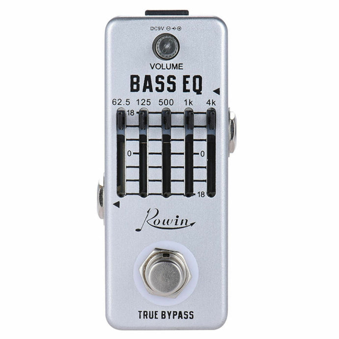 Rowin BASS EQ Equaliser Pedal