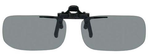 Opsales Polarized Clip On Flip Up Sunglasses Clips True Rectangle