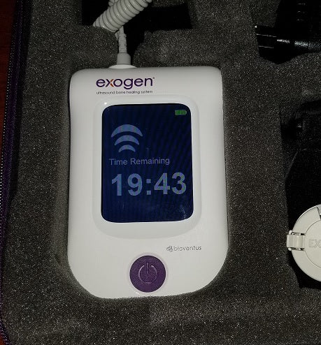 Brand New 2019 Exogen Ultrasound Bone Stimulator by Bioventus - 0 Uses - Free Priority Shipping