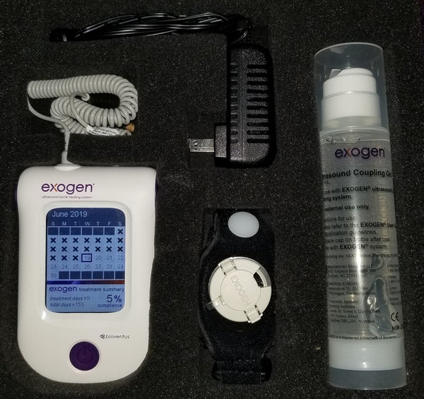 2018 Exogen Ultrasound Bone Stimulator by Bioventus - 2 Uses - Free Priority Shipping