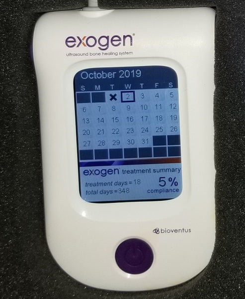 2018 Exogen Ultrasound Bone Stimulator by Bioventus - 46 Uses - Free Priority Shipping