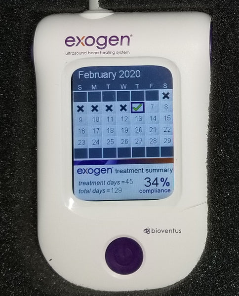 Exogen Ultrasound Bone Stimulator by Bioventus - Free Priority Shipping