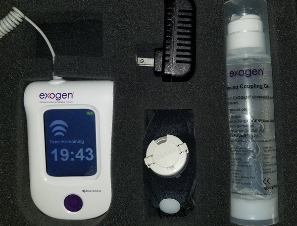 Like New! Exogen Ultrasound Bone Stimulator by Bioventus - 6 Uses - Free Priority Shipping