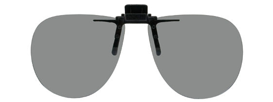 Opsales G1 Polarized Clip On Flip Up Sunglasses Clips Aviator