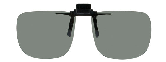Opsales G5 Polarized Clip On Flip Up Sunglasses Clips Rectangle