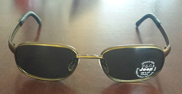 Brand New Jeep Adventure 204 Bronze Sunglasses With Case