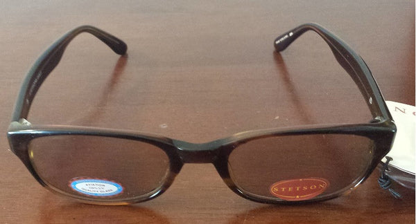 Brand New Authentic Stetson St Eagle Tortoise Photochromic Sunglasses With Case