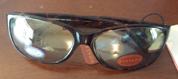 Brand New Authentic Stetson St Open Road Tortoise Photochromic Sunglasses With Case