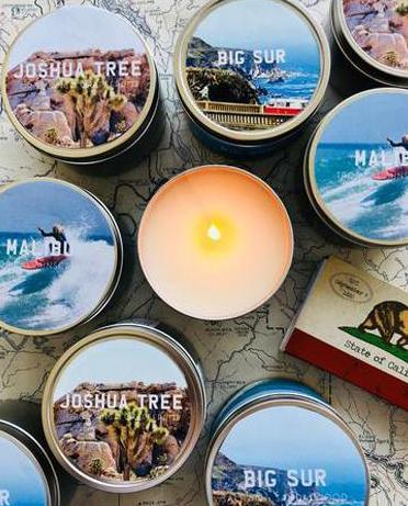 The Golden State x Pascal Shirley | Malibu Road Trip Travel Candle