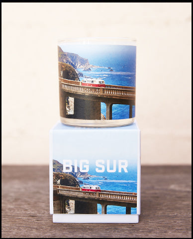 The Golden State x Pascal Shirley | Big Sur Road Trip Glass Candle