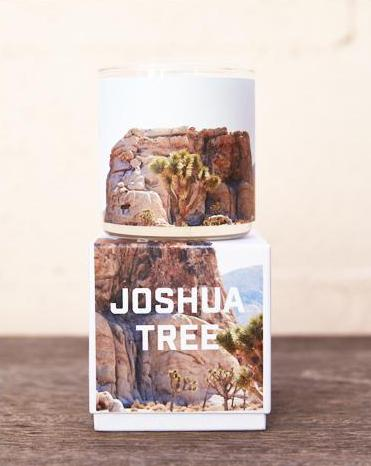 The Golden State x Pascal Shirley | Joshua Tree Road Trip Glass Candle