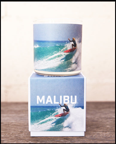 The Golden State x Pascal Shirley | Malibu Road Trip Glass Candle
