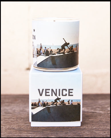 The Golden State x Pascal Shirley | Venice Road Trip Glass Candle
