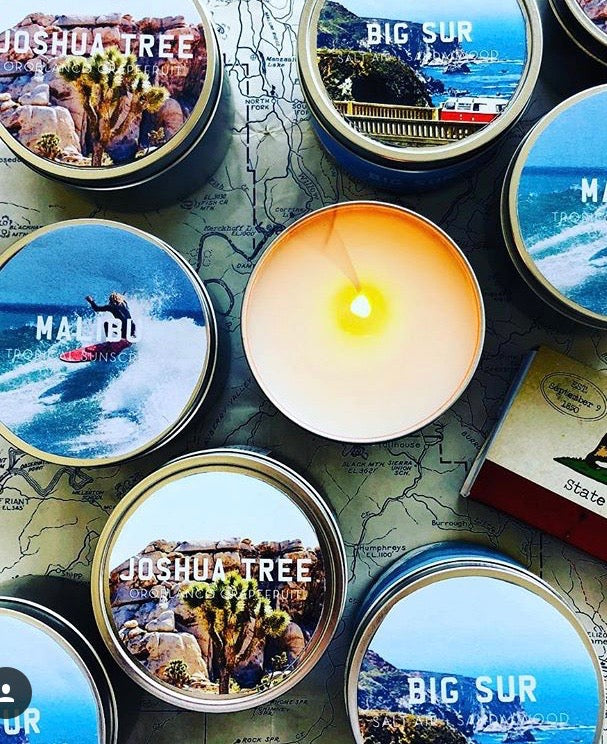 TGS HOME x PASCAL SHIRLEY | BIG SUR TRAVEL candle