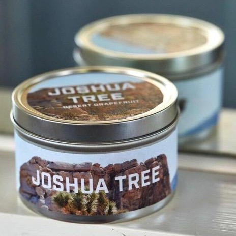TGS Home x Pascal Shirley | Joshua Tree Travel Candle