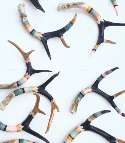 Heartshake Studios x The Golden State | Felted Antlers
