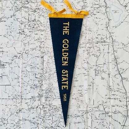 CALIFORNIA DESTINATION PENNANTS