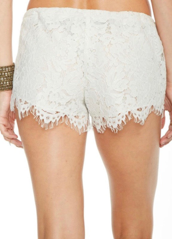 CHASER | Lace shorts
