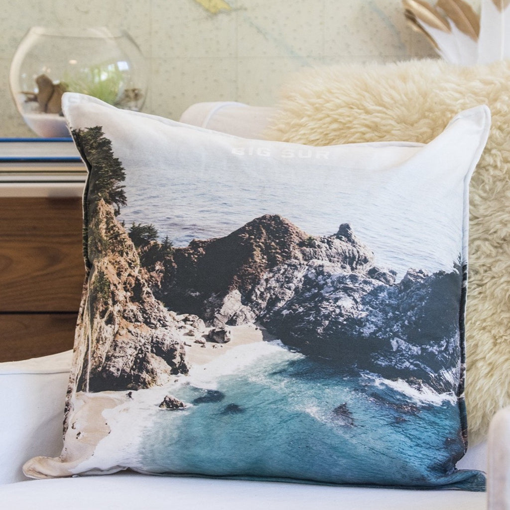 Big sur pillow