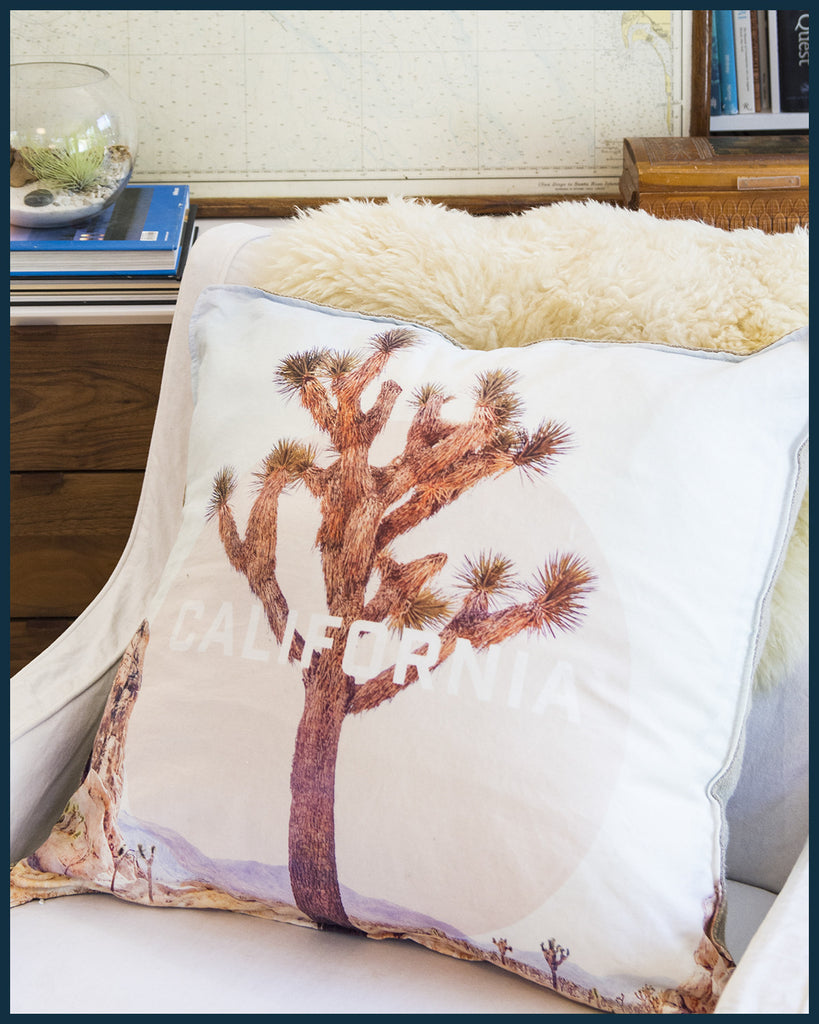 California Joshua Tree Pillow