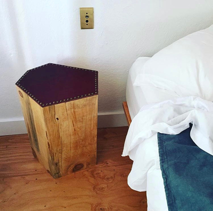 GOPHERWOOD | STUMP SIDE TABLES