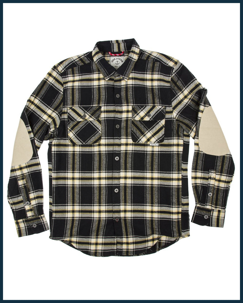 Benchmark Flannel - Black