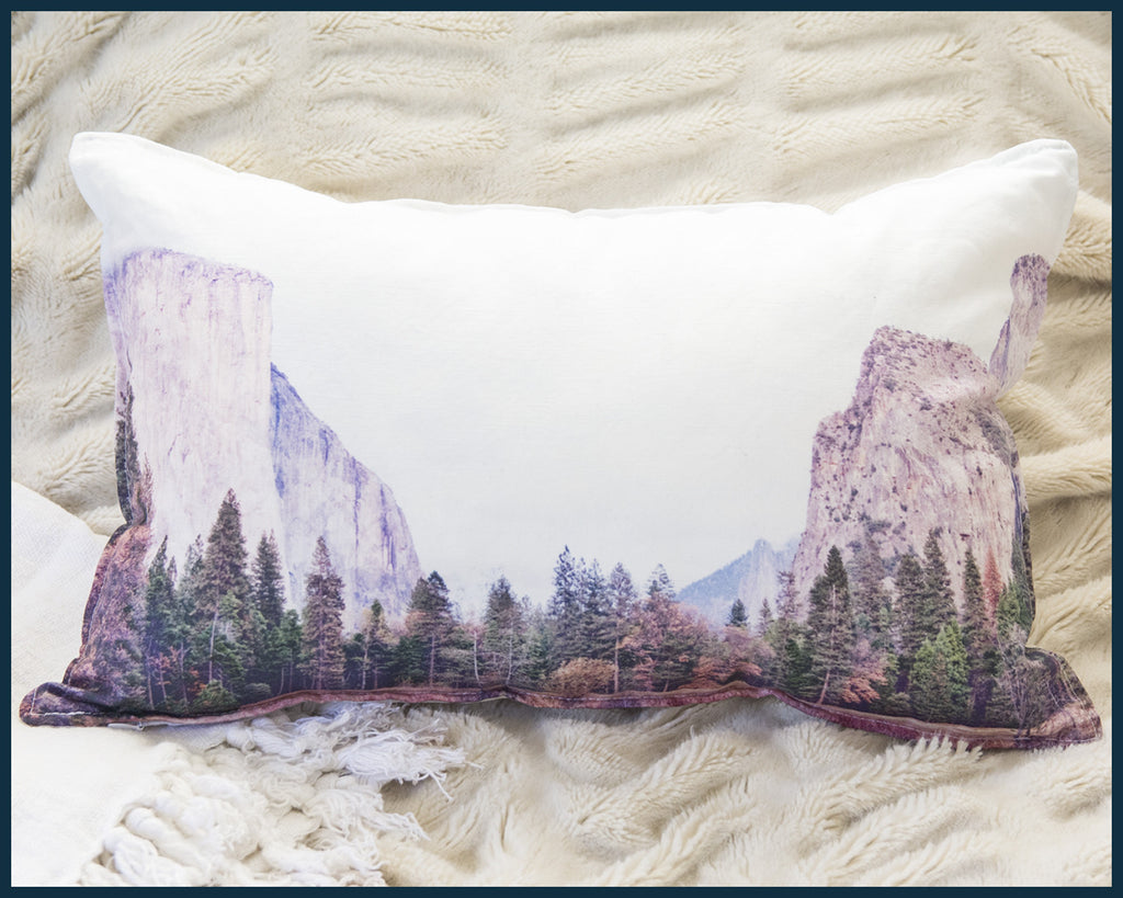 Yosemite lumbar pillow