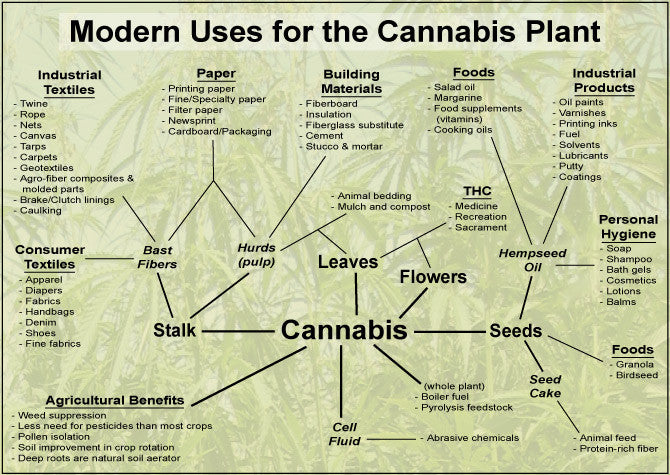 What is Hemp / Hemp Uses Information and Chart Page | THC (Toronto