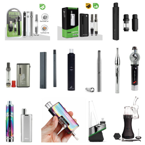 Vape Pen Options for wax and thick oil and cbd etc
