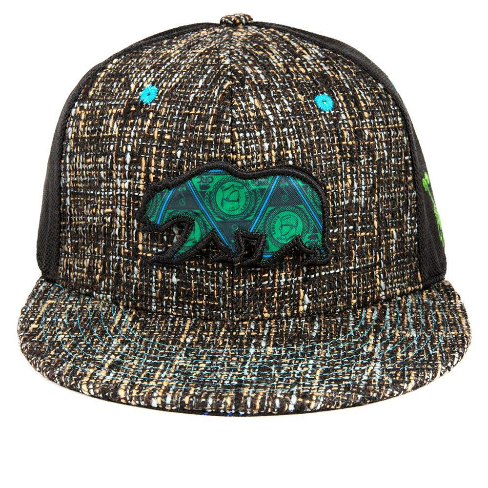 e76731c9e4f Grassroots California Hat - SnapBack Concrete WITH Matching DimeBags  BackPack Combo