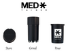 MedTainer Air-Tight Grinder & Container - Regular Size (20 dram) ChildProof Version