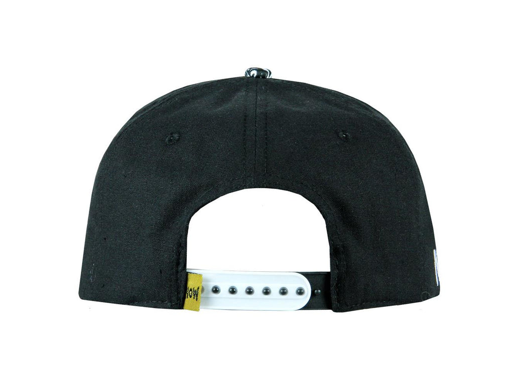 Grassroots California Hat - SnapBack Nighmares on Wax Smoker s Delight  Black Sizes 9aa9b8a98a59