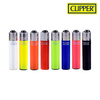 Clipper Lighter Micro Size Solid Design w/ Removable / Replaceable Flint / Poker 48/pack
