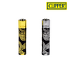 Clipper Lighter Metal Dragons 12/pack Tray<