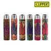 Clipper Lighter Pop Cork Cover Leaf / Leaves 15/30 w/ Replaceable Flint / Poker 30/pack